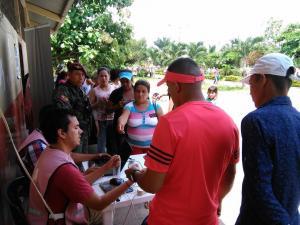 Inconvenientes en los siete recintos electorales que atendieron a los ciudadanos en Mocache