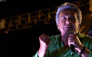 Lenín Moreno denuncia campaña sucia y cree en una victoria en primera vuelta