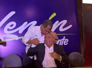 Correa: 'Hay que ver si esto se define en una sola vuelta. Sino, a prepararnos a una nueva victoria'