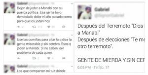 Polémica por insultos dirigidos a manabitas a través de redes sociales