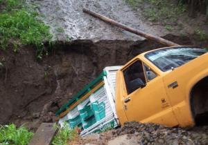 Lluvia provoca inundaciones en varios sectores de Portoviejo