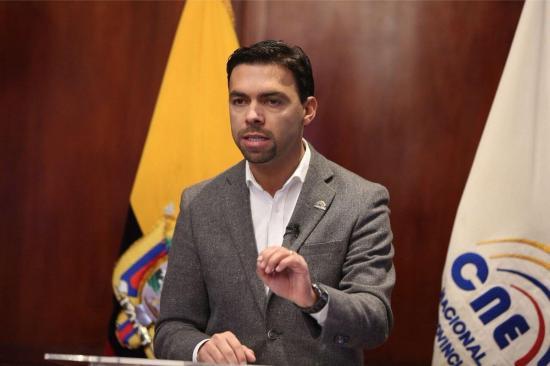 Juan Pablo Pozo hace oficial segunda vuelta electoral