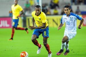 Caicedo, Arboleda y Cevallos le dan el triunfo a Ecuador en amistoso frente a Honduras