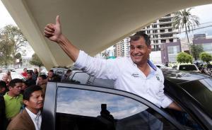 Correa anuncia encuentro con mujeres para el mismo día de la marcha de Nebot