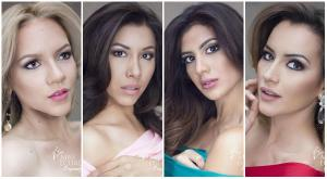 Presentan las fotos oficiales de las candidatas a Miss Ecuador 2017
