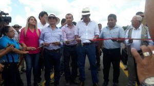 El vicepresidente Jorge Glas, candidato a la reelección, inaugura obras en Manabí