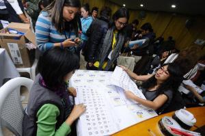 El 100% de las actas de asambleístas por Manabí ya fueron escrutadas, anuncia el CNE