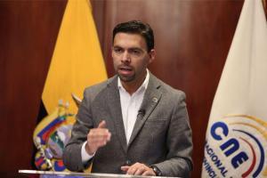 El CNE anuncia segunda vuelta electoral para el 2 de abril