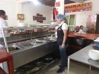 Inspección a comedores y restaurantes por feriado