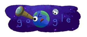 Google dedica su doodle al hallazgo de los 7 planetas similares a la Tierra