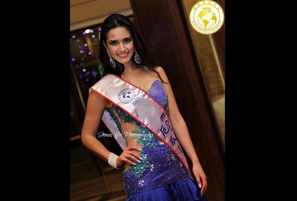 La ecuatoriana Ena Córdova es la nueva Queen of Brilliancy International