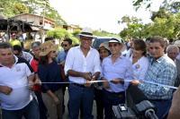Inauguran cuatro obras en Manabí