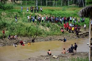 Hallan el cuerpo de joven ahogado en el río Portoviejo