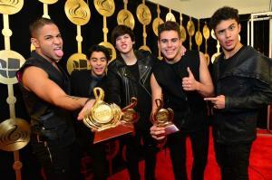 CNCO, del ecuatoriano Christopher Vélez, se alza con tres premios 'Lo Nuestro'