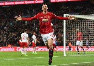 Ibrahimovic le da al Manchester United su quinta Copa de la Liga