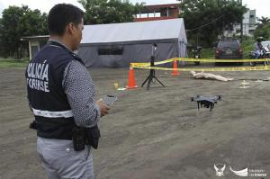 Dron para investigaciones