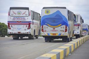 Paso para buses  se abre desde hoy