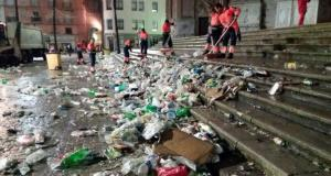 Recogen 150 toneladas de basura en solo un día de carnaval en Río de Janeiro