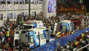 Tres de 20 heridos en el accidente en Sambódromo de Río siguen hospitalizados