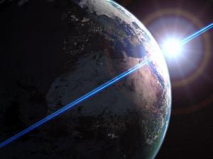 La Tierra pudo tener en sus inicios una superficie sólida y continua