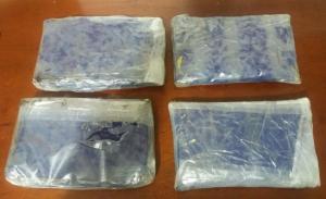 Dos kilos de droga en un taxi