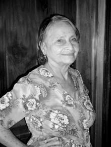 Sepelio María Elvira De Las Mercedes Mendoza Casanova