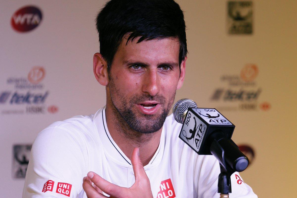 Novak Djokovic quiere dedicarse más a su familia