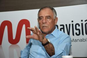 Paco Moncayo expresa apoyo a Guillermo Lasso, pero no hará campaña por él