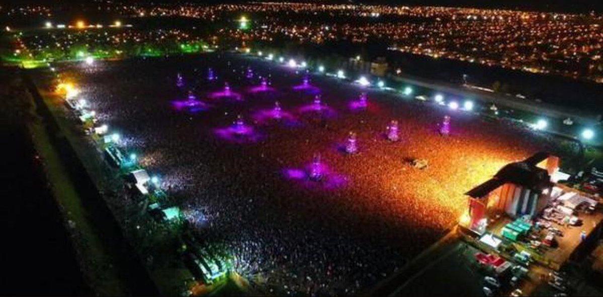 Dos personas mueren por una avalancha en un concierto en Argentina