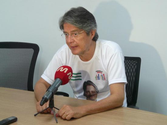 Guillermo Lasso: 'me sentí amenazado'