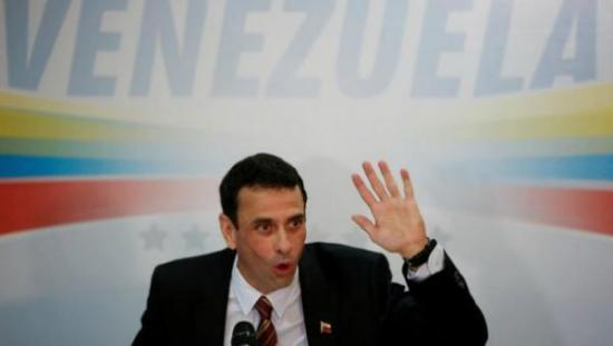 Capriles sería por tercera vez candidato a la Presidencia de Venezuela