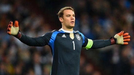 Manuel Neuer es baja en la selección alemana por lesión