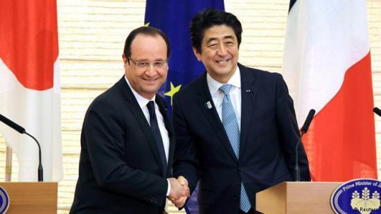 Francia y Japón refuerzan su cooperación en materia nuclear