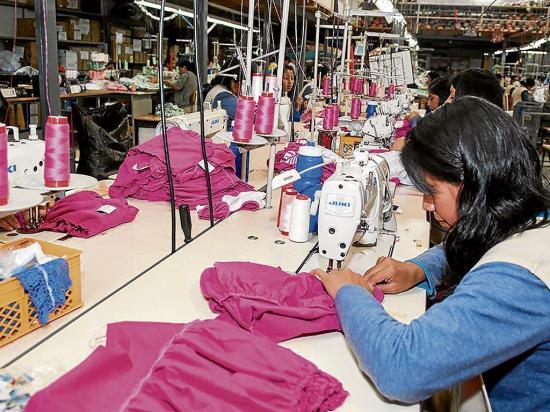 El sector textil  genera empleo
