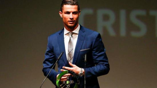 Cristiano Ronaldo es nombrado mejor jugador portugués del año