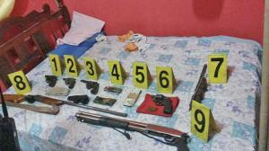 Sentenciados por tener armas