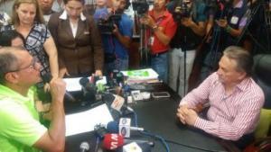 Jorge Glas realizó una declaración juramentada en Manabí