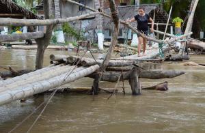 Lluvias dejan 3.835 viviendas afectadas en Manabí