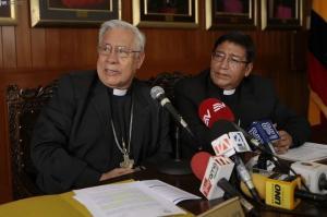 La Iglesia Católica pide paz y respeto para los comicios del 2 de abril