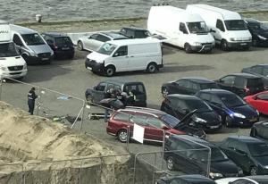 Hombre intentó atropellar a una multitud en una calle peatonal de Bélgica