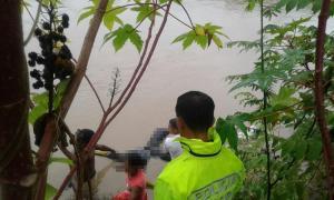 Cadáver hallado en el río Portoviejo estaba amarrado a un inodoro