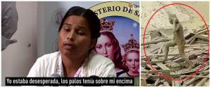 El angustioso testimonio de la mujer que sobrevivió a deslave en Perú