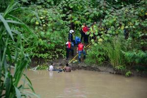 Sepultan al hombre que fue hallado flotando en el río Portoviejo
