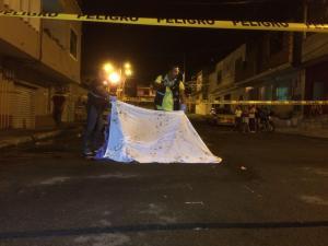 Hombre es asesinado con dos balazos en parroquia de Manta