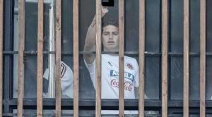 James Rodríguez es criticado por hacer gesto con la mano a periodistas