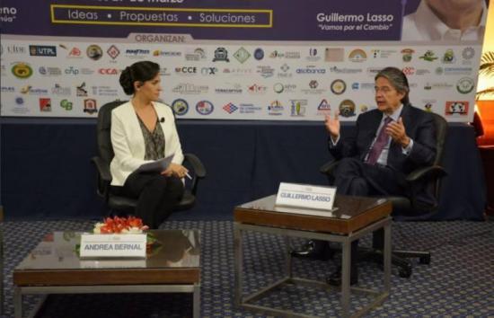 Se cancela debate presidencial convocado por la Cámara de Comercio de Guayaquil