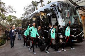 Cristiano Ronaldo es aclamado por sus paisanos de Funchal