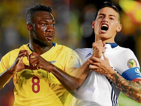 Ecuador vs Colombia: La 'Tri' disputa un choque clave para el sueño mundialista