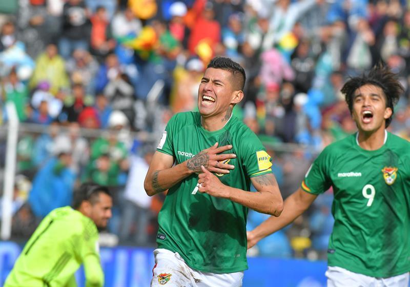 Bolivia vence por 2-0 a Argentina en La Paz