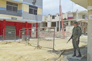 Apertura de la 'zona cero' de Manta está en manos del COE Manabí